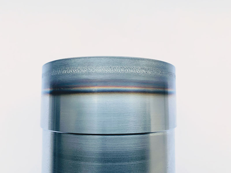 BLS Lasertechnology Laserhärten Metall Bauteil