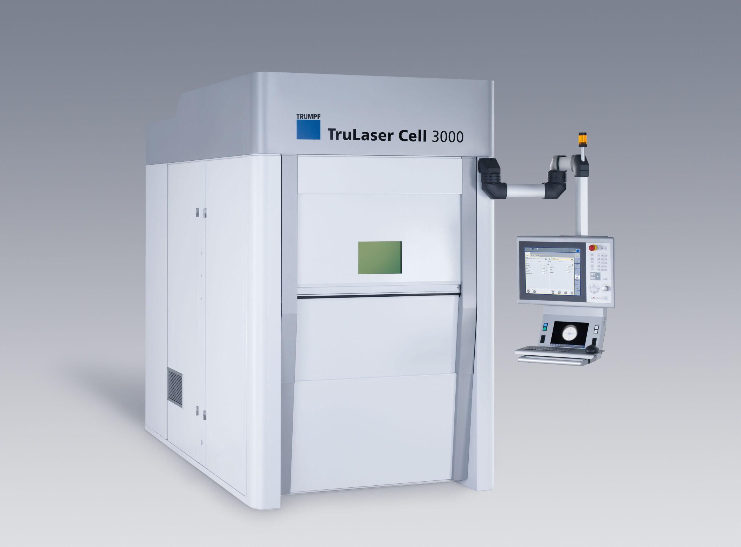 Trumpf TruLaser Cell 3000 BLS Lasertechnology