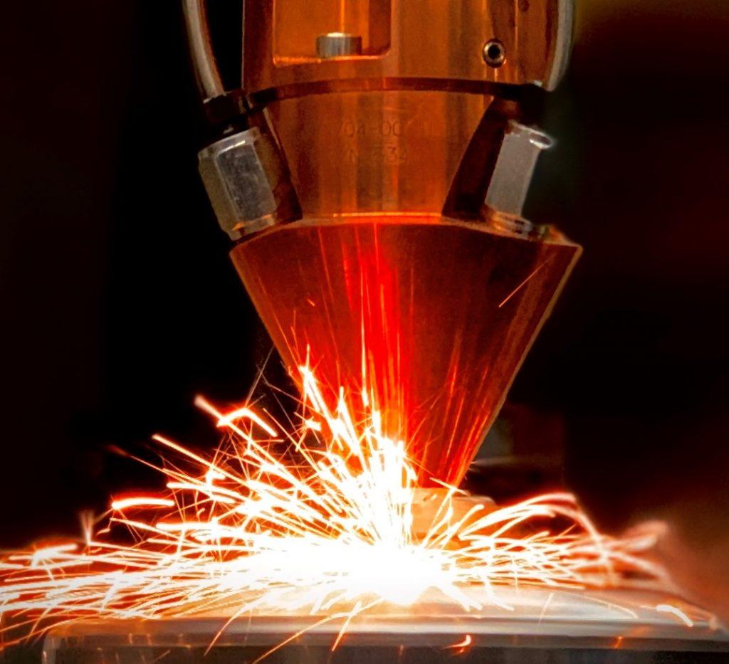 Laser Metal Deposition LMD BLS Lasertechnology
