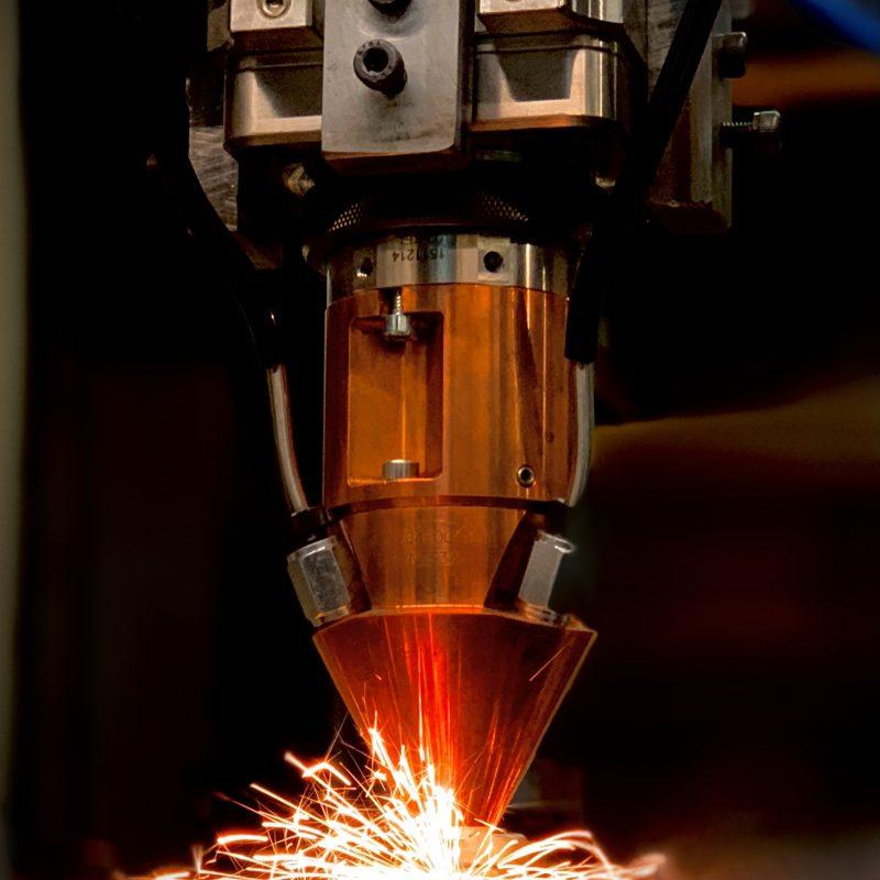 BLS Lasertechnology Laserauftragschweißen LMD
