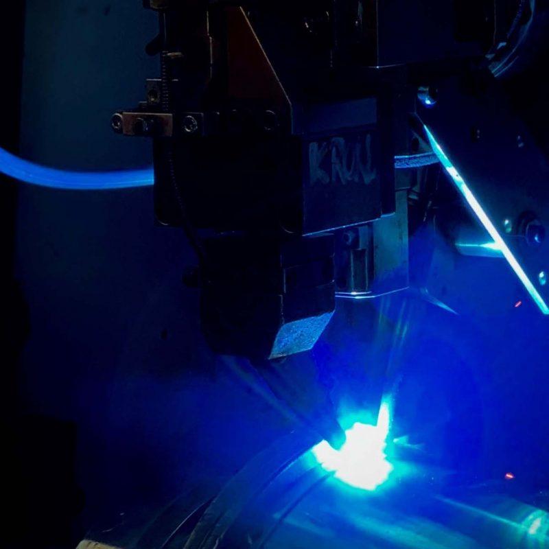 BLS Lasertechnology Laserschweißen Edelstahl