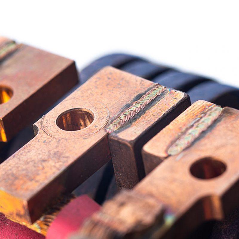 BLS Lasertechnology Laserschweißen Kupfer
