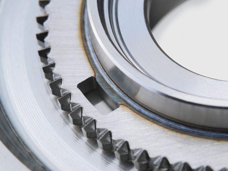 BLS Lasertechnology Laserschweißen Metall Bauteil
