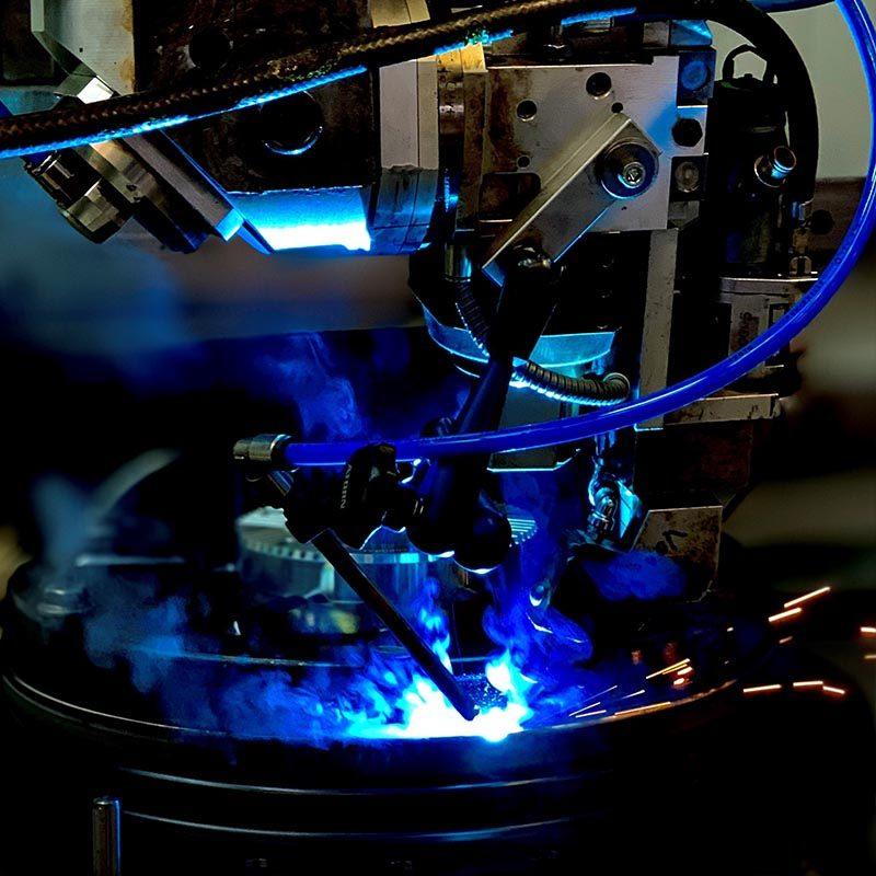BLS Lasertechnology Laserschweißen Titan